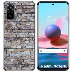 Funda Gel Tpu para Xiaomi Redmi Note 10 / 10S diseño Ladrillo 02 Dibujos