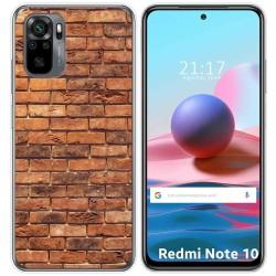 Funda Gel Tpu para Xiaomi Redmi Note 10 / 10S diseño Ladrillo 04 Dibujos