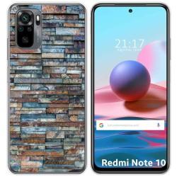 Funda Gel Tpu para Xiaomi Redmi Note 10 / 10S diseño Ladrillo 05 Dibujos