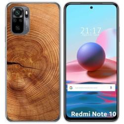 Funda Gel Tpu para Xiaomi Redmi Note 10 / 10S diseño Madera 04 Dibujos