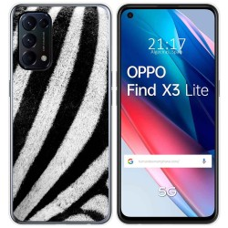 Funda Gel Tpu para Oppo Find X3 Lite diseño Animal 02 Dibujos