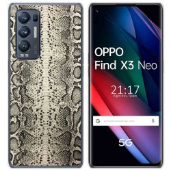 Funda Gel Tpu para Oppo Find X3 Neo diseño Animal 01 Dibujos