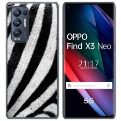 Funda Gel Tpu para Oppo Find X3 Neo diseño Animal 02 Dibujos