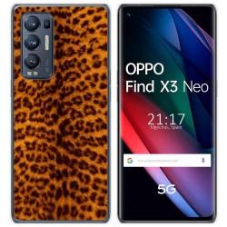 Funda Gel Tpu para Oppo Find X3 Neo diseño Animal 03 Dibujos