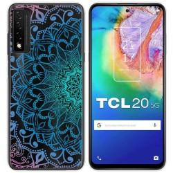 Funda Gel Transparente para TCL 20 5G diseño Mandala Dibujos