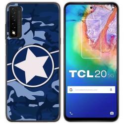 Funda Gel Tpu para TCL 20 5G diseño Camuflaje 03 Dibujos