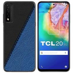 Funda Gel Tpu para TCL 20 5G diseño Cuero 02 Dibujos