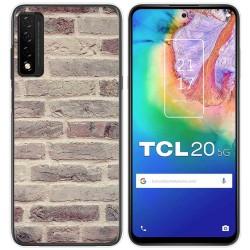 Funda Gel Tpu para TCL 20 5G diseño Ladrillo 01 Dibujos