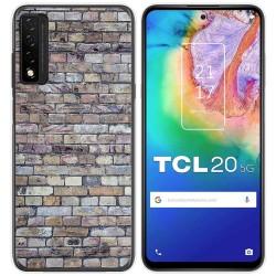 Funda Gel Tpu para TCL 20 5G diseño Ladrillo 02 Dibujos