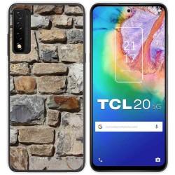 Funda Gel Tpu para TCL 20 5G diseño Ladrillo 03 Dibujos
