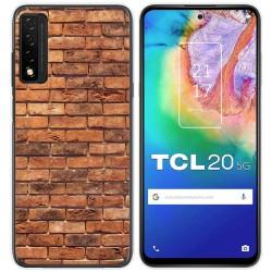 Funda Gel Tpu para TCL 20 5G diseño Ladrillo 04 Dibujos