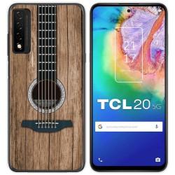 Funda Gel Tpu para TCL 20 5G diseño Madera 11 Dibujos
