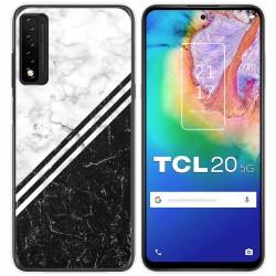 Funda Gel Tpu para TCL 20 5G diseño Mármol 01 Dibujos