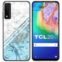 Funda Gel Tpu para TCL 20 5G diseño Mármol 02 Dibujos