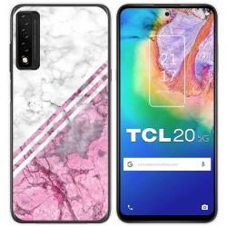 Funda Gel Tpu para TCL 20 5G diseño Mármol 03 Dibujos