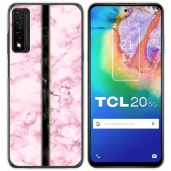 Funda Gel Tpu para TCL 20 5G diseño Mármol 04 Dibujos