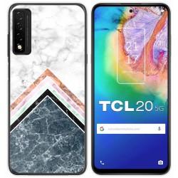 Funda Gel Tpu para TCL 20 5G diseño Mármol 05 Dibujos