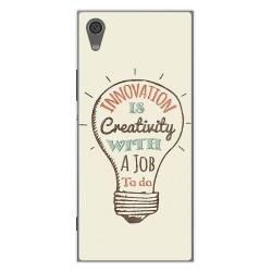 Funda Gel Tpu para Sony Xperia XA1 Diseño Creativity Dibujos