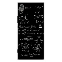 Funda Gel Tpu para Sony Xperia XA1 Diseño Formulas Dibujos