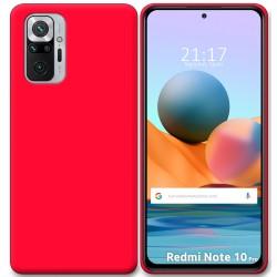 Funda Silicona Gel TPU Rosa para Xiaomi Redmi Note 10 Pro