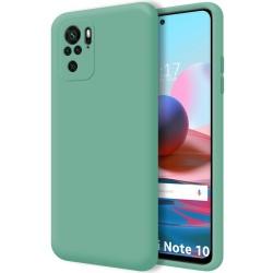 Funda Silicona Líquida Ultra Suave para Xiaomi Redmi Note 10 / 10S color Verde