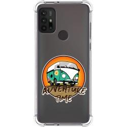 Funda Silicona Antigolpes para Motorola Moto G10 / G30 diseño Adventure Time Dibujos