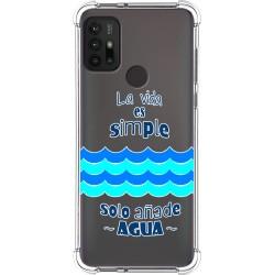 Funda Silicona Antigolpes para Motorola Moto G10 / G30 diseño Agua Dibujos