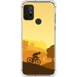 Funda Silicona Antigolpes para Motorola Moto G10 / G30 diseño Ciclista Dibujos
