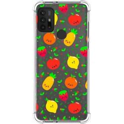 Funda Silicona Antigolpes para Motorola Moto G10 / G30 diseño Frutas 01 Dibujos