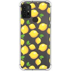 Funda Silicona Antigolpes para Motorola Moto G10 / G30 diseño Limones Dibujos