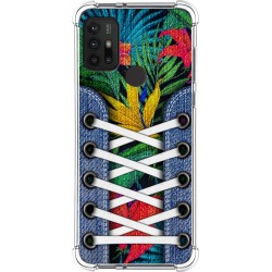 Funda Silicona Antigolpes para Motorola Moto G10 / G30 diseño Zapatillas 12 Dibujos