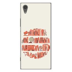 Funda Gel Tpu para Sony Xperia XA1 Diseño Mundo Libro Dibujos