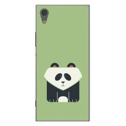 Funda Gel Tpu para Sony Xperia XA1 Diseño Panda Dibujos