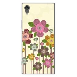 Funda Gel Tpu para Sony Xperia XA1 Diseño Primavera En Flor Dibujos