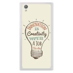 Funda Gel Tpu para Sony Xperia L1 Diseño Creativity Dibujos