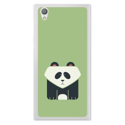 Funda Gel Tpu para Sony Xperia L1 Diseño Panda Dibujos