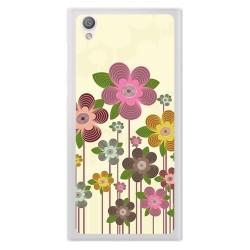 Funda Gel Tpu para Sony Xperia L1 Diseño Primavera En Flor Dibujos