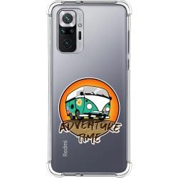 Funda Silicona Antigolpes para Xiaomi Redmi Note 10 Pro diseño Adventure Time Dibujos