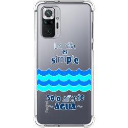 Funda Silicona Antigolpes para Xiaomi Redmi Note 10 Pro diseño Agua Dibujos