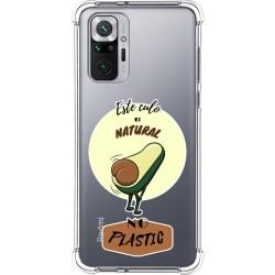 Funda Silicona Antigolpes para Xiaomi Redmi Note 10 Pro diseño Culo Natural Dibujos