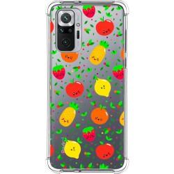 Funda Silicona Antigolpes para Xiaomi Redmi Note 10 Pro diseño Frutas 01 Dibujos