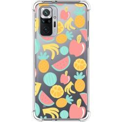 Funda Silicona Antigolpes para Xiaomi Redmi Note 10 Pro diseño Frutas 02 Dibujos