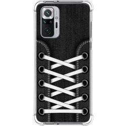 Funda Silicona Antigolpes para Xiaomi Redmi Note 10 Pro diseño Zapatillas 02 Dibujos