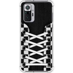 Funda Silicona Antigolpes para Xiaomi Redmi Note 10 Pro diseño Zapatillas 03 Dibujos