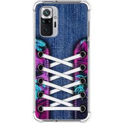 Funda Silicona Antigolpes para Xiaomi Redmi Note 10 Pro diseño Zapatillas 06 Dibujos
