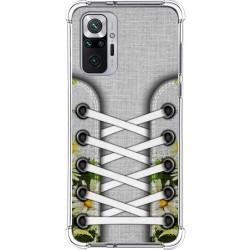 Funda Silicona Antigolpes para Xiaomi Redmi Note 10 Pro diseño Zapatillas 08 Dibujos