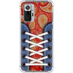Funda Silicona Antigolpes para Xiaomi Redmi Note 10 Pro diseño Zapatillas 10 Dibujos