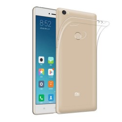 Funda Gel Tpu Fina Ultra-Thin 0,3mm Transparente para Xiaomi Mi Max 2
