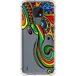 Funda Silicona Antigolpes para Motorola Moto E7 diseño Colores Dibujos