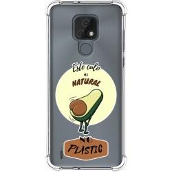 Funda Silicona Antigolpes para Motorola Moto E7 diseño Culo Natural Dibujos